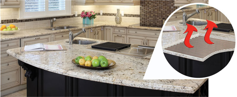 Increase The Comfort Of Elegant Granite And Stone Countertops With Feelswarm Technology A Unique Patented Pending Heating Solution
